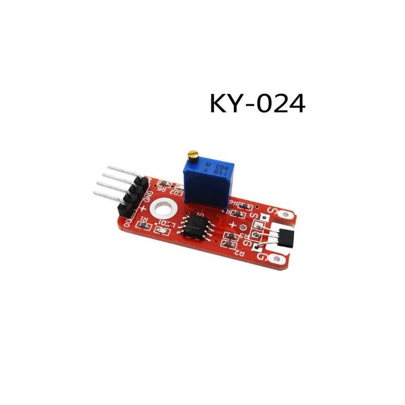 KY-024 Hall Effect Sensor Module - Nano Creations
